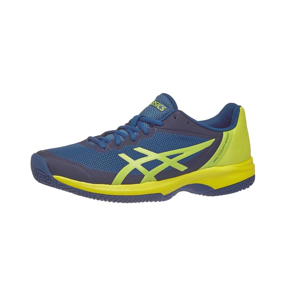 Chaussures Hommes Asics Gel Gel Court Speed Vue Bleu Court Argile/ Soufre 360 ° Vue 17de1a1 - sinetronindonesia.site