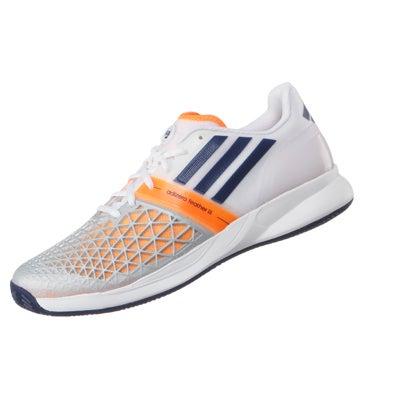 online retailer f7699 a0f89 adidas CC adizero Feather III RG CLAY WhGy Mens Shoes 360° V