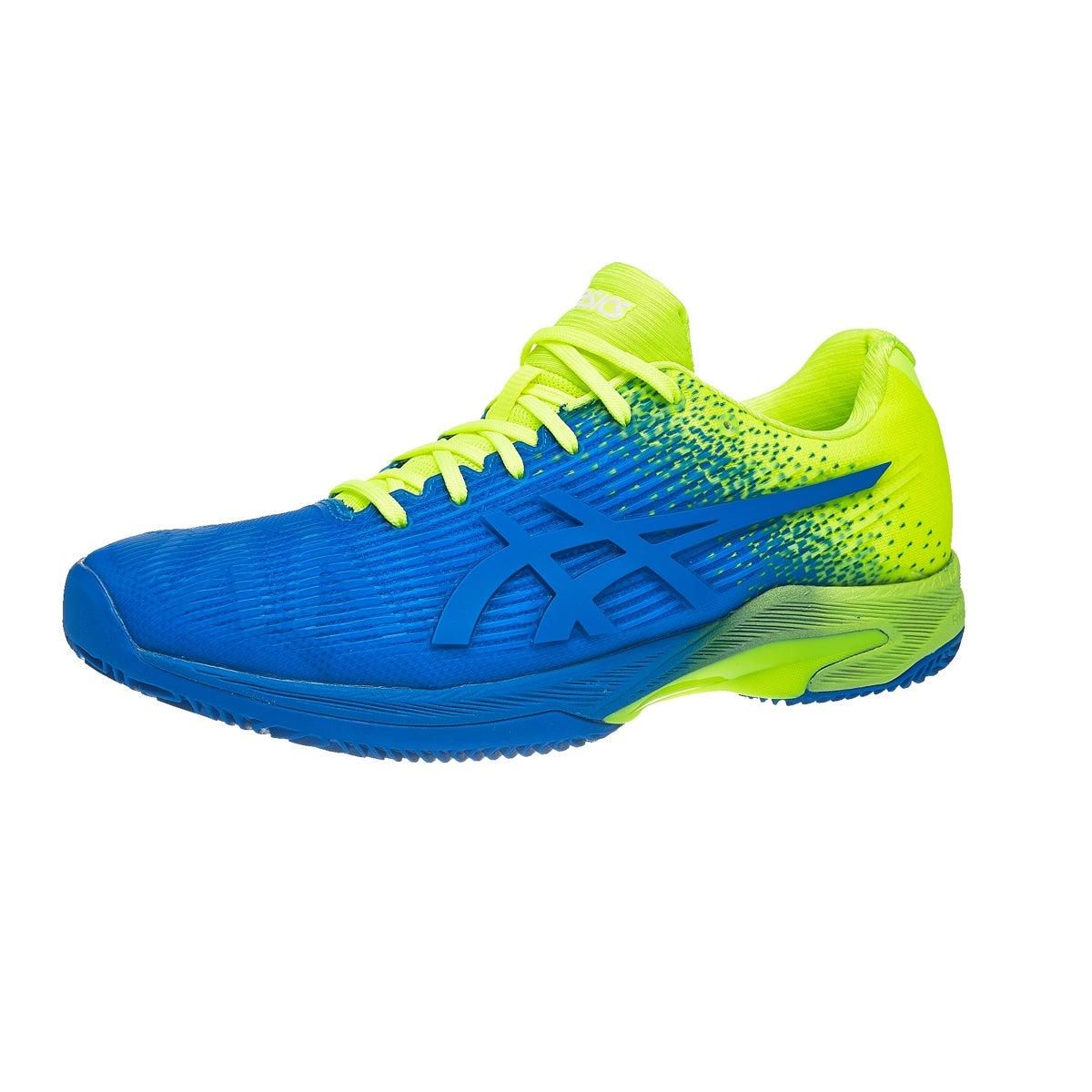 Chaussure Asics Gel 19022 Solution Speed FF ° 360 Bleu/ Jaune Pour Homme Vue à 360 ° af20d3f - kyomin.website