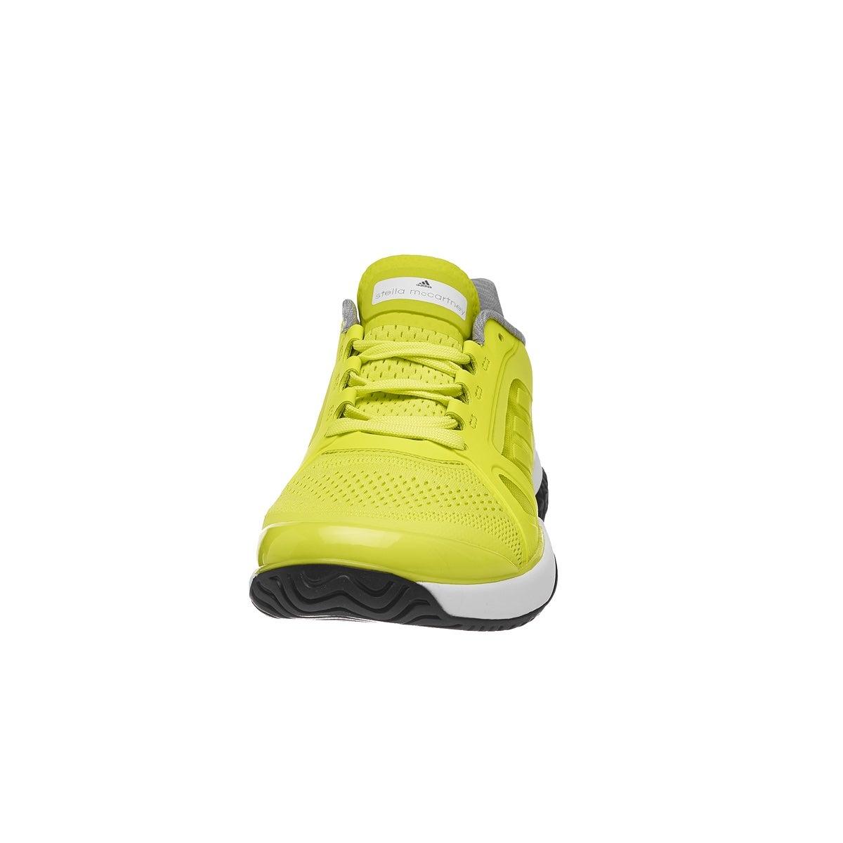 adidas aSMC Barricade Boost LimeWhite Women's Shoes 360° View