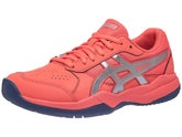 sneakers for cheap f6850 c3688 Asics Gel Game 7 GS Blue Pink Junior Shoes