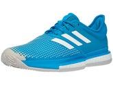 watch 54887 09963 adidas SoleCourt Boost Sandplatz Herren Tennisschuh Blau