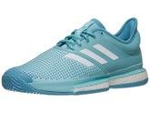 897236078d4f3 Chaussure Homme adidas SoleCourt Boost Parley Bleu