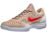 check out 84aec 480af Chaussures Homme Nike Air Zoom Cage 3 Beige Cramoisi