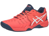 Asics Gel Resolution 7 GS Clay Scarpe Tennis Bambino Red