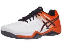Asics Gel Resolution 7 Allcourt 2019 rotschwarz Tennisschuhe Herren