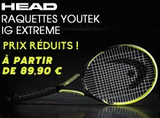 HEAD Youtek IG Racket Sale!