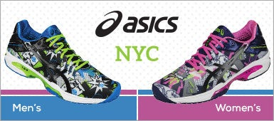 Asics NYC shoes split