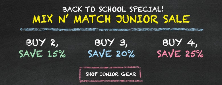 Back to School Junior Sale!