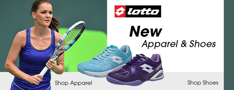 New Lotto Women's Apparel and Shoes
