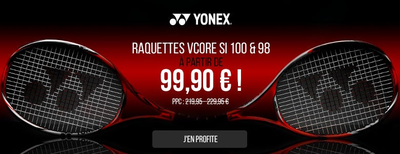 Yonex VCore Rackets Now Only 119,90!