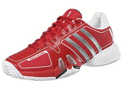 Djokovic: adidas Barricade 7.0 Novak Red / White Men's Shoes