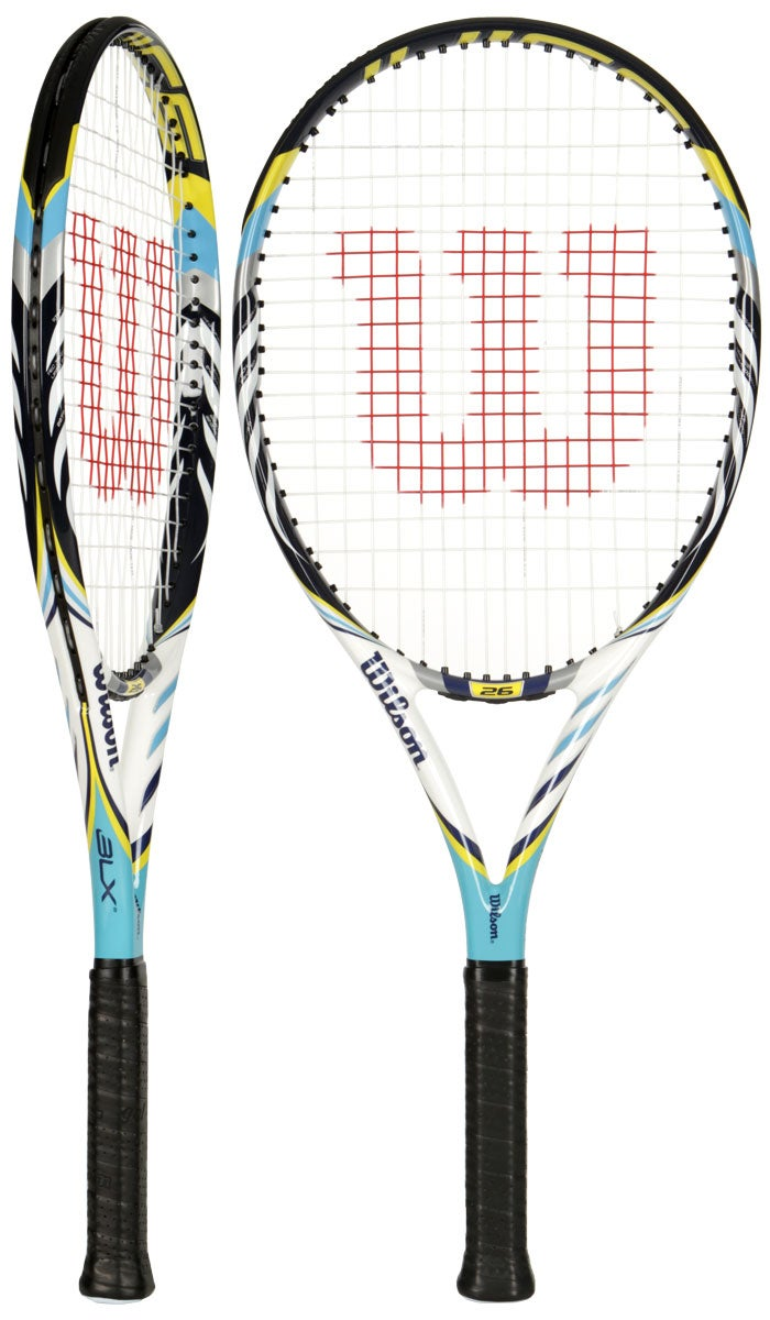 WILSON JUICE 26 INCH BLX JUNIOR JNR TENNIS RACKET | eBay