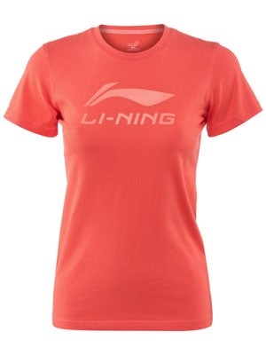 LI-NING Women's Spring/Summer Essentials Logo T-Shirt