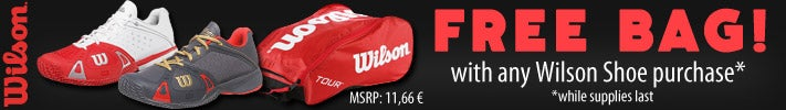 WILSON - Free Bag w/any Wilson Rush Purchase