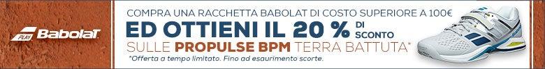 BABOLAT-buy any Babolat rack over 100�>>20% off BPM clay