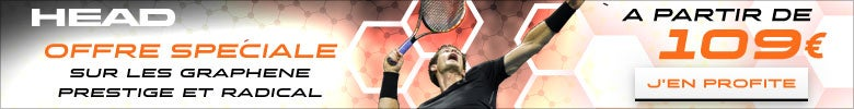 HEAD-Graphene PRESTIGE & Radical rackets from 109 �