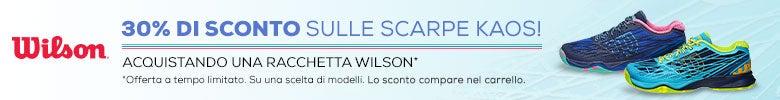 WILSON-30% OFF Kaos Shoes w/purchase 1 wilson racket