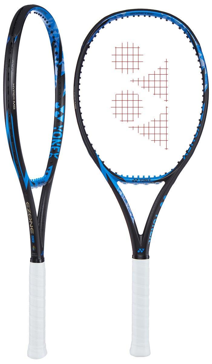 Yonex EZONE 98L Bright Blue (285g) Racket - Tennis Warehouse