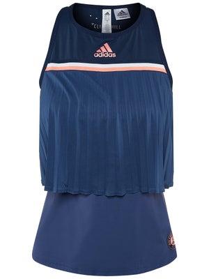 b7e507d2fcabe9 adidas Damen Roland Garros Tank - Tennis Warehouse Europe
