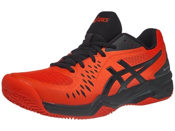 free shipping b9fbc dca7b Chaussures Homme Asics Gel Challenger 12 TERRE BATTUE Rouge Noir - Tennis  Warehouse Europe