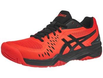 1acadd65042ee Asics Gel Challenger 12 Red Black Men s Shoes - Tennis Warehouse Europe