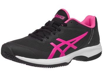 Zapatillas Mujer Asics Gel Court Speed Tierra Batida Negro/Rosa/Blanco