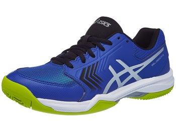 d92eca184 Asics Gel Dedicate 5 Clay Black Blue Yellow Men s Shoes - Tennis ...