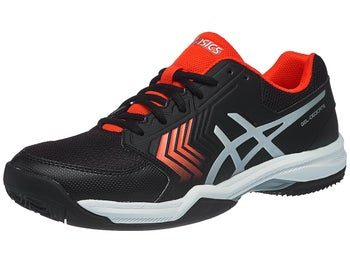4321141d3445 Asics Gel Dedicate 5 Clay Red Black Men s Shoes - Tennis Warehouse Europe