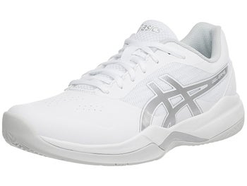 hot sale online 24bb9 f37c2 Chaussures Homme Asics Gel Game 7 Blanc Argent - Tennis Warehouse Europe