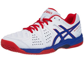 a34fb61d05 Asics Gel Padel Pro 3 SG Clay White/Red/Bl Men's Shoes - Tennis ...