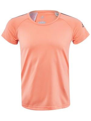 Camiseta Manga Corta Niña adidas Cool Primavera - Tennis Warehouse Europe 0fbafa9eb89c6