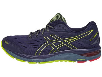798f95fc4e0 ASICS Gel Cumulus 20 GTX Men s Shoes Dark Blue Lime - Tennis Warehouse  Europe
