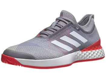 new arrival 5e572 ce122 Chaussures Homme adidas Adizero Ubersonic 3 Gris Rouge - Tennis Warehouse  Europe