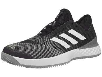 timeless design 9e698 db5c2 Chaussures Homme adidas Adizero Ubersonic 3 TERRE BATTUE Noir Blanc -  Tennis Warehouse Europe