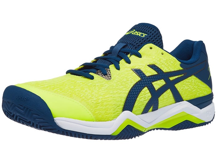 Arancel agujas del reloj Frase  Asics Gel Bela 7 Clay Yellow/Blue Men's Shoes - Tennis Warehouse ...