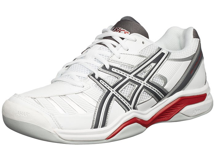 bas prix 469f5 c1772 Asics Gel Challenger 9 Carpet White/Grey Men's Shoes ...