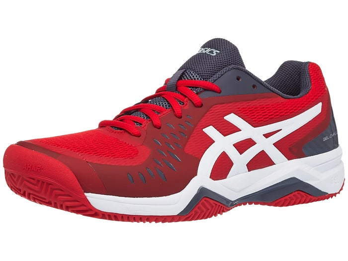 Inspeccionar Imperio Comprometido  Asics Gel Challenger 12 Clay Red/White Men's Shoes - Tennis Warehouse Europe