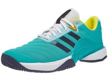 official photos 51d67 b7578 adidas Barricade 18 AquaYellow Mens Shoe