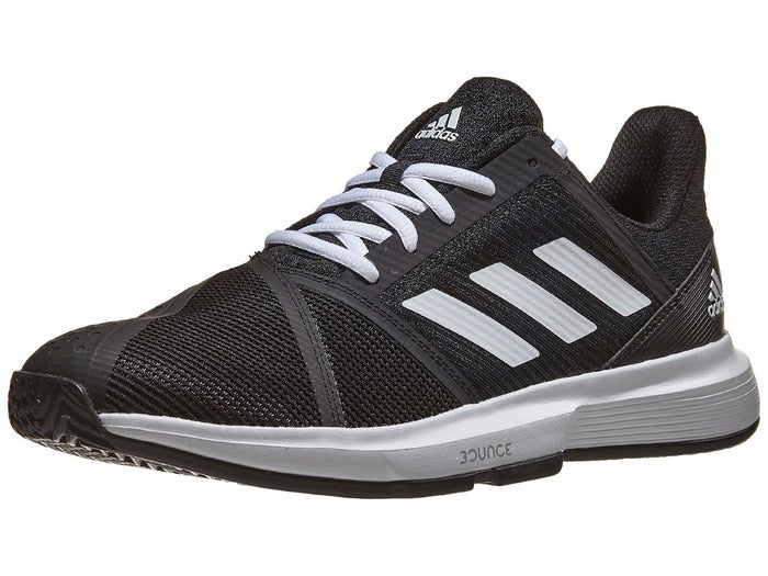 salida de fábrica estilo atractivo primer nivel adidas CourtJam Bounce Black/White Men's Shoe - Tennis Warehouse ...