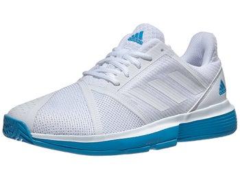 promo code 33418 a8002 Chaussures Homme adidas CourtJam Bounce BlancBleu - Tennis Warehouse Europe