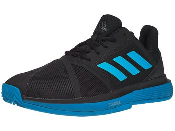 e0f22ca764f41 adidas CourtJam Bounce Clay Black Blue Men s Shoe - Tennis Warehouse Europe
