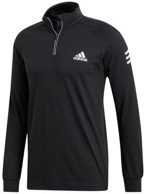 Haut à Manches Longues Homme adidas Basic Club 1 4 Zip Midlayer - Tennis  Warehouse Europe 7898159b7da