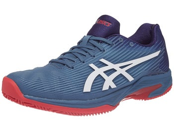 1dad15315755 Asics Gel Solution Speed FF Clay Blue Red Men s Shoes - Tennis ...