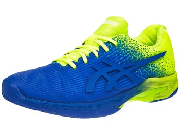 Asics Gel Solution Speed FF Blue Yellow Men s Shoes - Tennis ... 9fef6d06e