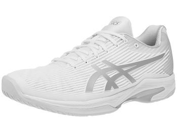 huge discount ef61d 47039 Asics Gel Solution Speed FF Herren Tennisschuh WeißSilber -