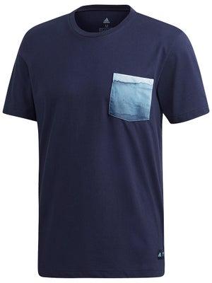 4ea2134575d adidas Men's Spring Parley Pocket T-Shirt - Tennis Warehouse Europe