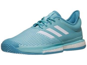 704a16da1ba3 adidas SoleCourt Boost Parley Blue Men's Shoe - Tennis Warehouse Europe