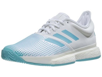 buy online f32c0 9793a Zapatillas Hombre adidas SoleCourt Boost Parley BlancoAzul - Tennis  Warehouse Europe