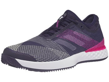 the latest 981dd 6bdb5 Chaussures Homme adidas Adizero Ubersonic 3 Terre Battue Bleu InkRose -  Tennis Warehouse Europe